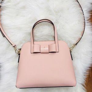 Kate Spade bow satchel crossbody bag